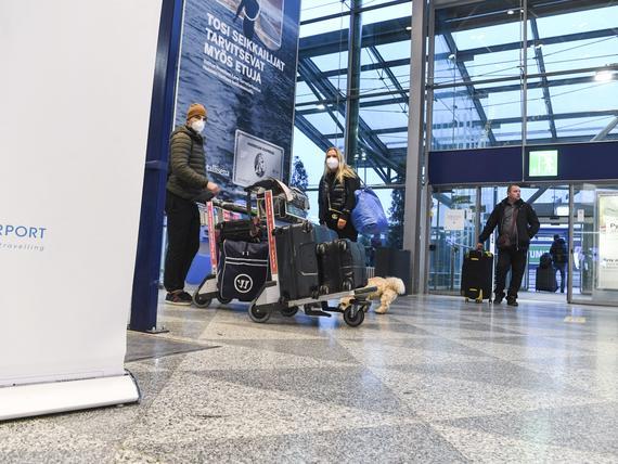 Suomen lentokenttien matkustajamäärä väheni 91 prosenttia tammikuussa
